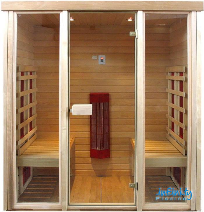 Top perch scegliere le saune infinity with saune prezzi - Prezzi sauna per casa ...